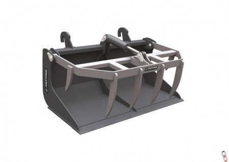 PROFORGE Skidsteer 1.2mtr (4ft) Bucket Grab