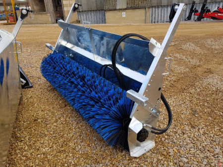 PROFORGE HYDRAULIC BUCKET BRUSH - GALVANISED (Without Bucket)