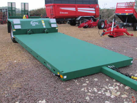 BAILEY 8 tonne Hyd. Drop Flat Bed - 6.0 m - Low Loader Trailer, New