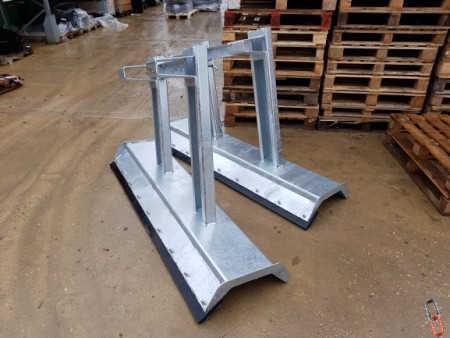 Yard & Snow Scraper  - Fork Mounted, Heavy Duty - 1800mm Wide. Galvanised