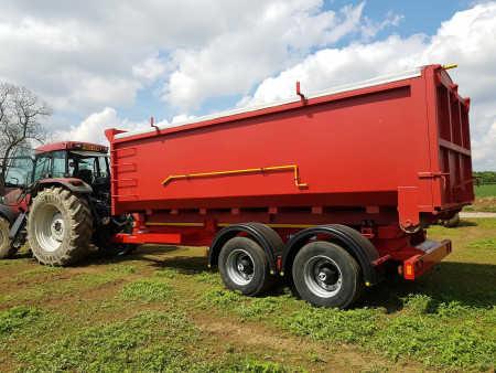 NEW HOOKLIFT 15 tonne Grain Body with Rollover Sheet, CHEM Spec