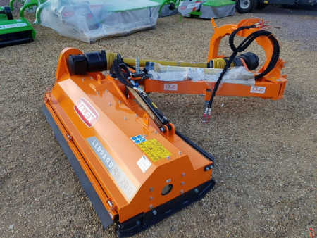 NEW TALEX LEOPARD RB200 Z-Flail Mower, 2 metre, Dyke, Verge and Hedge Sides - In Stock!