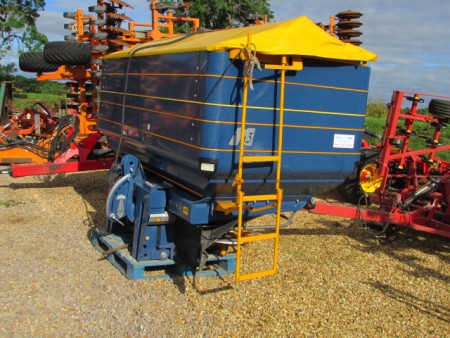KRM BOGBALLE M3W QZ, 2009, Weigh Cell Fertiliser Spreader