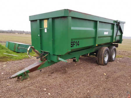 RICHARD WESTERN SF14 Grain Trailer 14 tonne