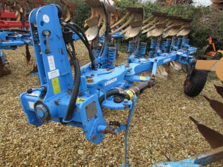 LEMKEN EURO 7X Plough, 5 furrow, (4+1) Auto-Reset, Slatted Bodies,