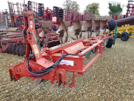KVERNELAND LO85/300 On land-In Furrow 6 furrow Plough, Hyd Vari, No.28