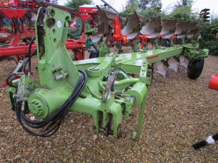 DOWDESWELL MA140 Plough, 7 furrow, (6+1) DDS bodies