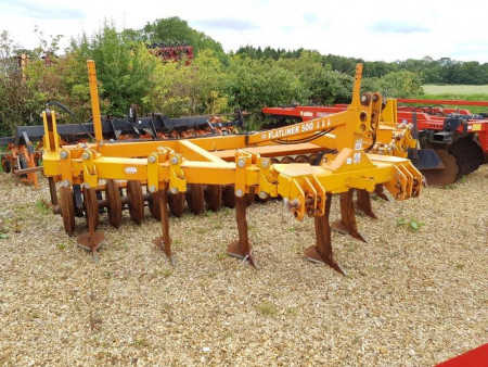 SIMBA 4.2 Metre Flatliner 500 Subsoiler, 7 leg with DD packer