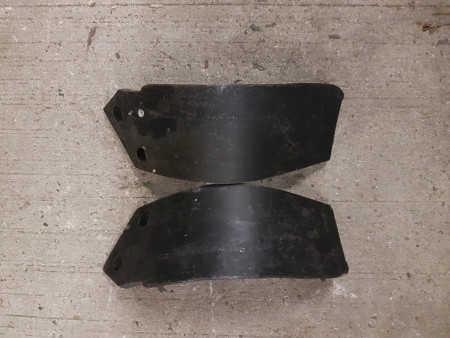 Howard Rotavator heavy duty speed blade (12mm/75mm) LH