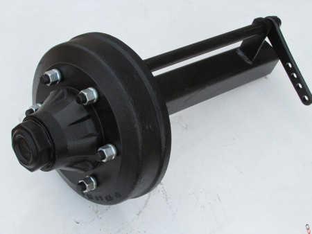 NEW 70mm ADR Braked Stub Axle, 6 stud,
