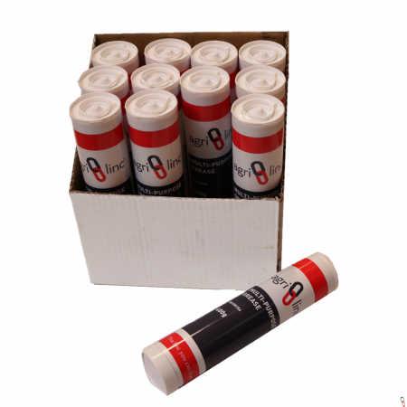Lithium Grease Gun Cartridges, Lithium EP2 Grease Tubes (Box of 12)