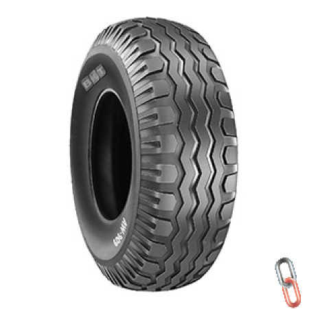 NEW 12.5/80 x 15.3 BKT tyre only
