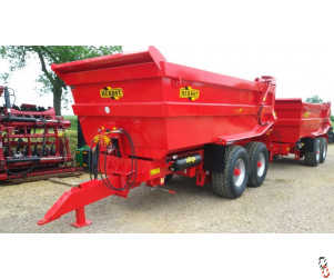 HERBST Dump Trailer 20 tonne Hi-Speed - New - In Stock
