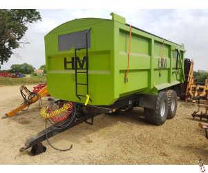 HM 1820 Grain Trailer, 2011, 18 tonne, Air/Oil Brakes, 560 Tyres