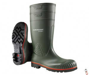 Dunlop Acifort Wellington Boots, Safety Toe, Range of Sizes