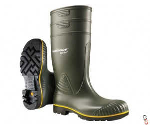 Dunlop Acifort Wellington Boots, Non-Safety, Range of Sizes