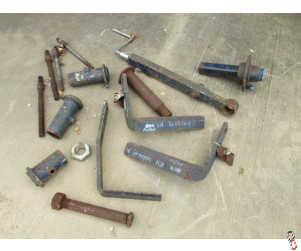Stocks Subsoiler Misc Parts Assortment