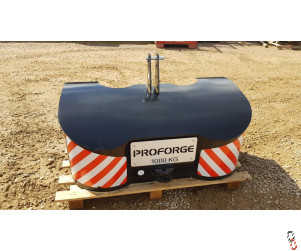 Proforge Handiweight 1000kg Black - Slight Lid Defect