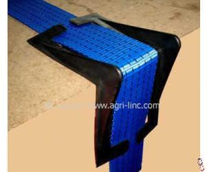 Plastic corner protectors to suit 50mm webbing