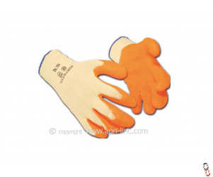 Latex Palm Coated Gloves - Range of sizes