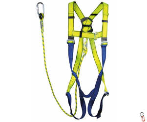 Safety Harness & Lanyard Restraint Kit
