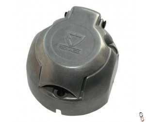 12v 7 Pin Socket (Female) Metal for Trailer Lights