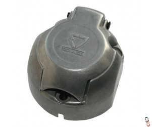 12v 7 Pin Socket (Female) Metal for Trailer Lights