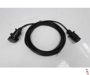 Trailer Lighting Extension Lead, 6 metre