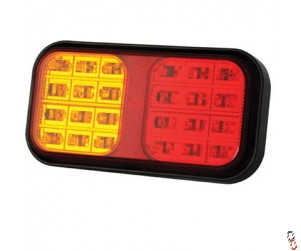 LED Multifunctional Rectangle Tail Light
