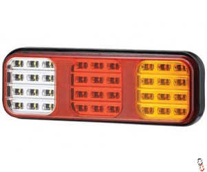LED 284mm Rectangular Tail Light