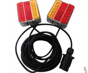 LED Magnetic Trailer Lighting Kit