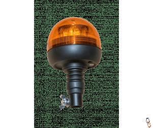 LED Flexi Pole Mount Compact Beacon Amber 12-24 Volts