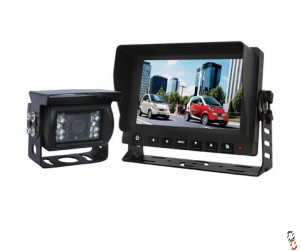 """7"""" Reversing Camera Kit Complete, Wired, with audio"""