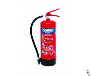 Fire Extinguisher 6kg Dry Powder Firechief