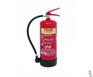 FireChief Fire Extinguisher 6 Litre Foam