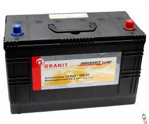 BATTERY 663, 12V Endurance Line Starter Battery