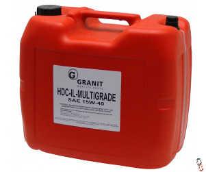Oil - Engine Oil 15W/40 HDC, 20 Litres