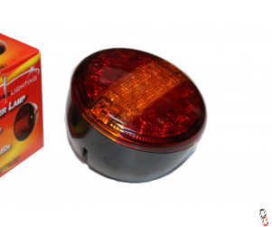 LED Round Multifunction Tail Lamp 140 mm
