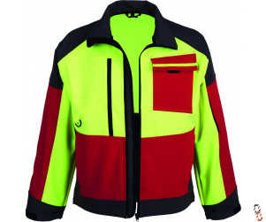 Forestry Softshell Flourescent Jacket, Range of Sizes