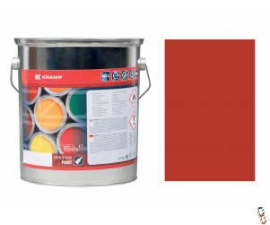 Primer red oxide glossy paint, 5 litre