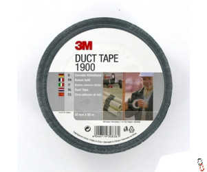 Black Fabric Duct Tape 50mm x 50m