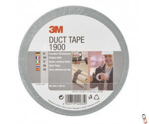 Silver Fabric Duct Tape 50mm x 50m