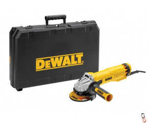 Dewalt DWE4206K Grinder 115mm 1010w 240V c/w Kitbox