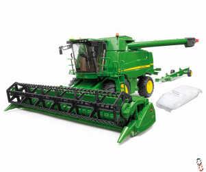 Bruder Farm Toy John Deere T670i Combine Harvester 1:16