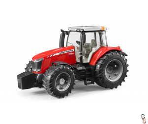 Bruder Farm Toy Massey Ferguson 7600 Tractor 1:16