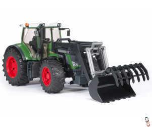 Bruder Farm Toy Fendt 936 Vario Tractor with Front Loader 1:16