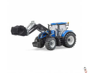 Bruder New Holland T7.315 Tractor c/w Front Loader 1:16 Farm Toy