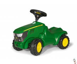 Rollykid John Deere Push Tractor