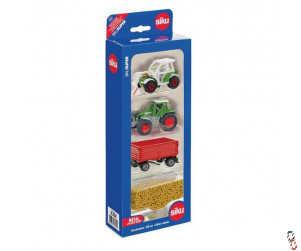 Siku 4 Piece Farm Toys Gift Set 1:87