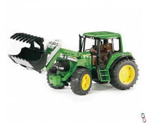 Bruder John Deere 6920 Tractor c/w Front Loader 1:16 Farm Toy